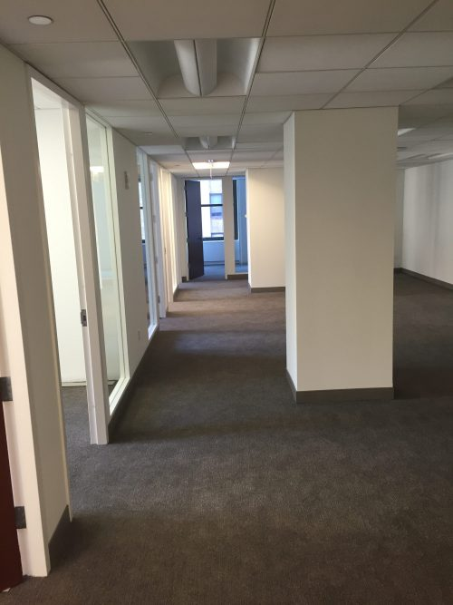 1350 Broadway 21th Floor Office – Before and After