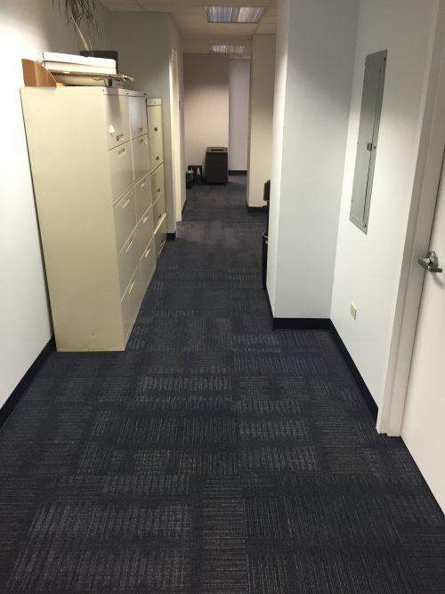 11 East 44th St – Office carpet tile