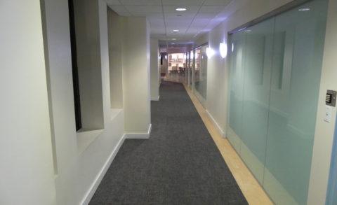 11 Madison Square North Corridor carpet tiles