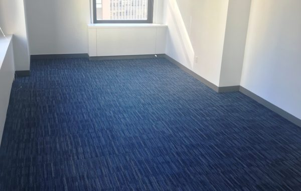 50 Broadway 27th fl office carpet tile