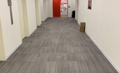 1370 Ave of Americas hallway carpet tile