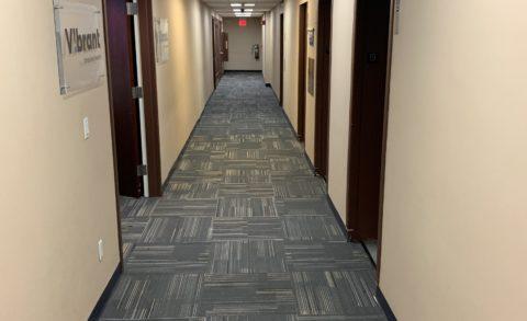 50 Broadway 19th fl Office – Carpet tiles