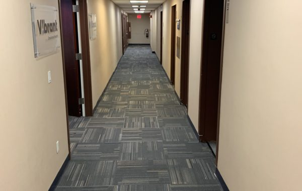 50 Broadway 19th fl Office – Carpet tiles